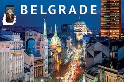 Vodič: Beograd / Belgrade (engleski), Dragomir Acović, Studio Bečkerek